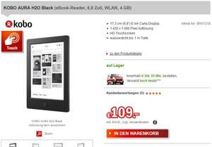 Kobo Aura H2O eBook Reader [Redcoon] 114,99€ inkl. Versand