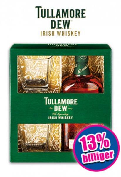 Norma (bundesweit?) : Tullamore Dew 0,7l Geschenkbox inkl. 2 Tullamore Dew Gläsern