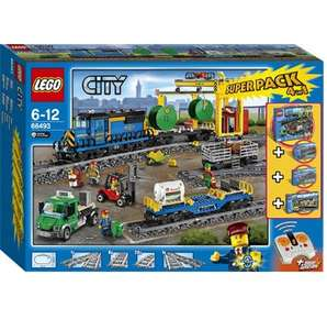 LEGO 66493 City Superpack 4 in 1 (60052, 60050, 7895, 7499) für 149,99€