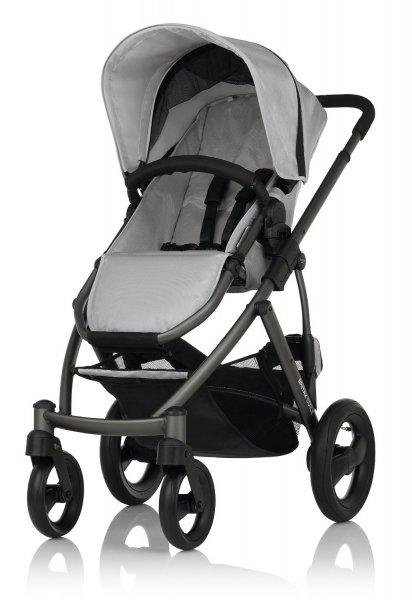 Kinderwagen - Britax Smile Silver/Slate Chassis für 241,97€ durch 50% Rabatt @Amazon