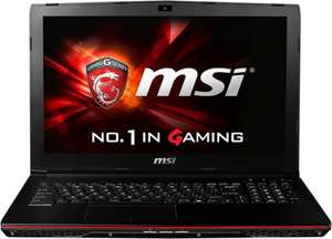 "MSI GP62-2QEi585FD Leopard Pro / 15.6"" Full-HD / GeForce GTX 950M / i5-4210H / 8GB RAM / 500GB für 699€ bei Notebooksbilliger.de"