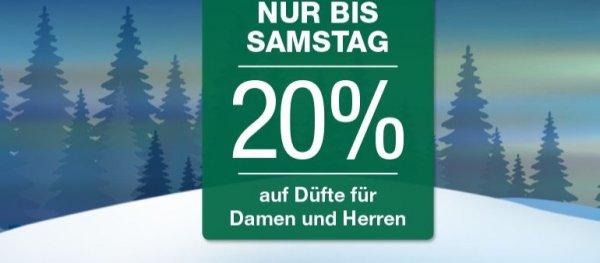 [Galerie Kaufhof] 20 % auf Damen- und Herrendüfte
