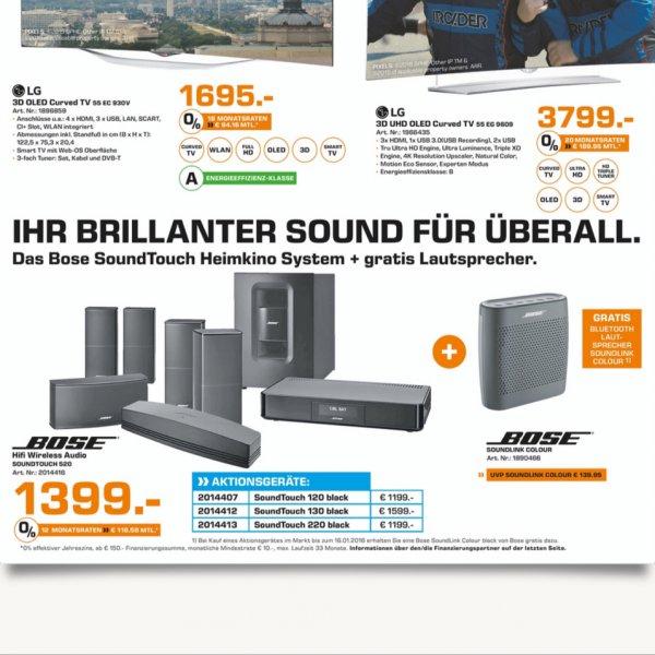 [Saturn in Chemnitz Röhrsdorf] Bose Soundtouch 520 für 1399 statt 1599