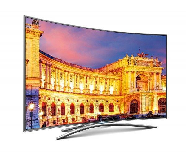 Hisense UB55EC870 55 Zoll 4K UHD Ultra HD Curved 3D Triple Tuner Smart TV Fernseher HDMI 2.0 für 657,34 € @ Amazon.de WHD
