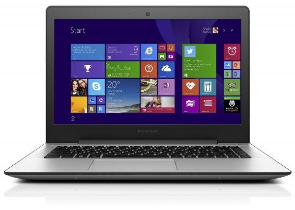 "Notebook Lenovo U41-70 BDW 80JV00CRGE für 649€ - 14"" FHD Display, i5 Prozessor, 256GB SSD Festplatte und 8GB RAM"