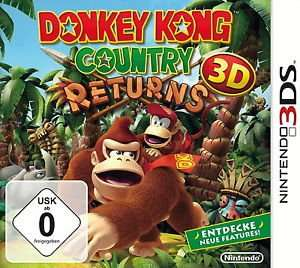Donkey Kong Country Returns 3D - Nintendo 3DS (Euronics via ebay!)