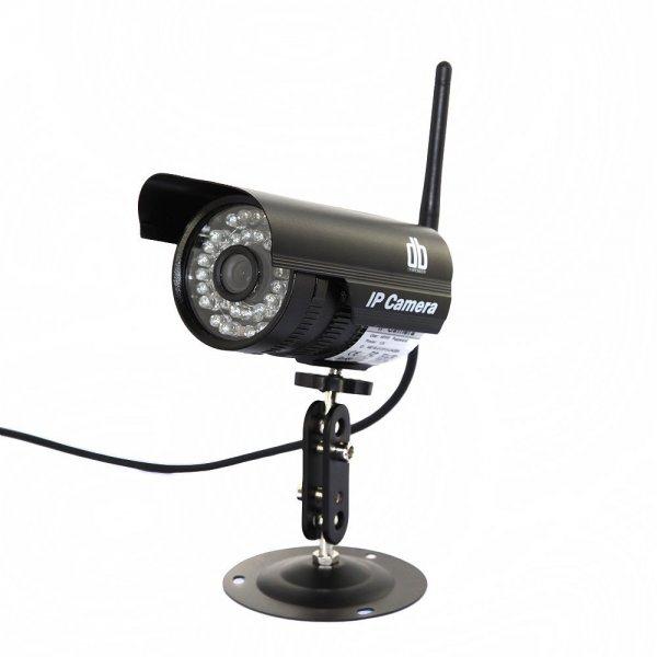 PNP Wireless IP Kamera CMOS 36 IR Nachtsicht-Kamera Plug and Play 640x480 Outdoor Wasserdicht drahtlose Wifi / Wired P2P-IP-Kamera-Nachtsicht bis zu 20m