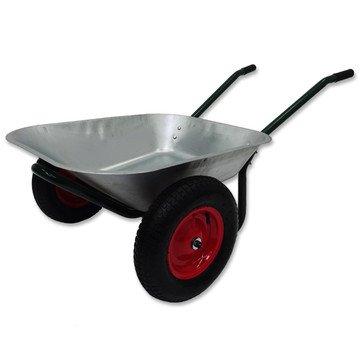 Gartenschubkarre mit zwei Rädern ca. 58 Liter 34,99€ - 5€ Newsletter + Versand= 34,94€