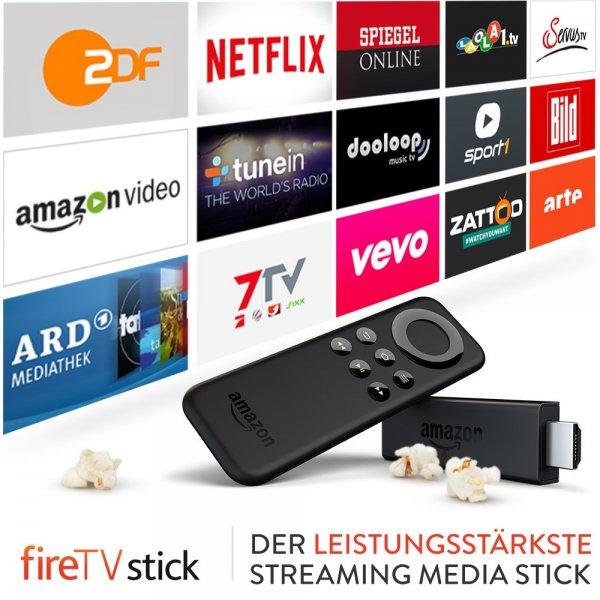 [Wieder da] Amazon Fire TV Stick für 29,99€ bei Saturn (mit Füllartikel und 5€ NL Gutschein für unter 30€)