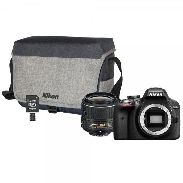 [ebay.de] Nikon D3300 Kit 18-55mm + Nikon Systemtasche + 64GB Class 10 Speicherkarte