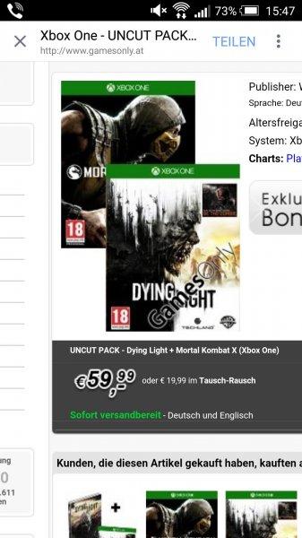 Dying Light + Mortal Kombat Uncut Pack