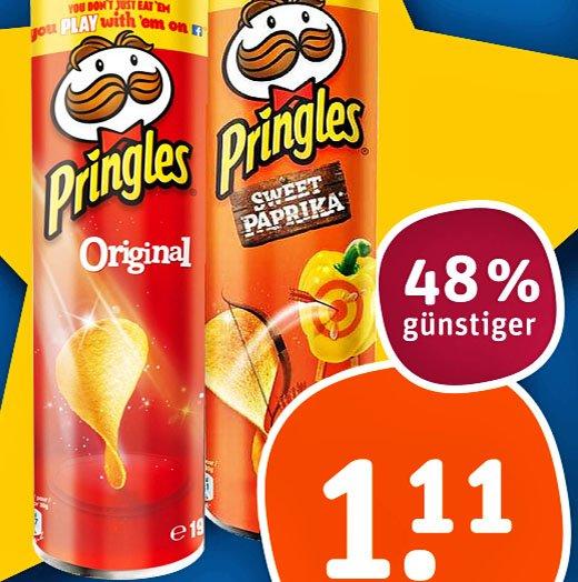 [tegut] Pringles für nur 1,11€ am Mittwoch den 23.12