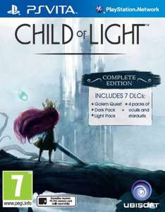 Child of Light (Complete Edition) Retail für PS Vita - 9,99 Euro bei (eBay) Saturn / redcoon