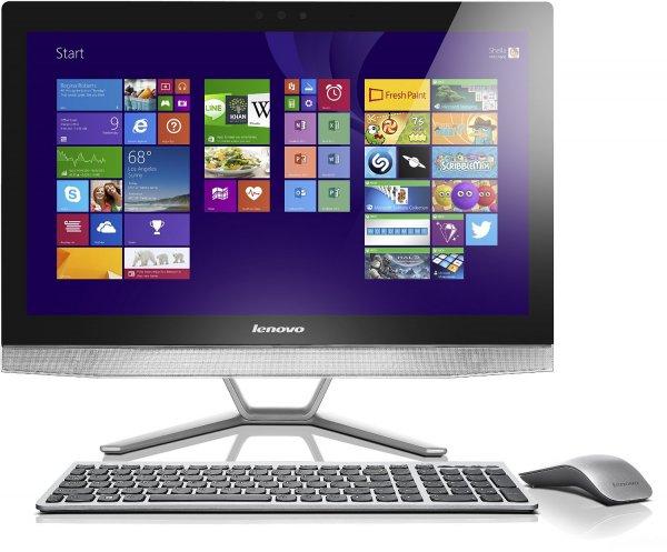 "Lenovo IdeaCentre B50-30 All-In-One-PC, Core i7-4785T, 16GB RAM, 2TB SSHD, GeForce Grafik, 23,8"" Full-HD-Multitouch IPS, Windows 8.1 für 999€ bei Amazon"