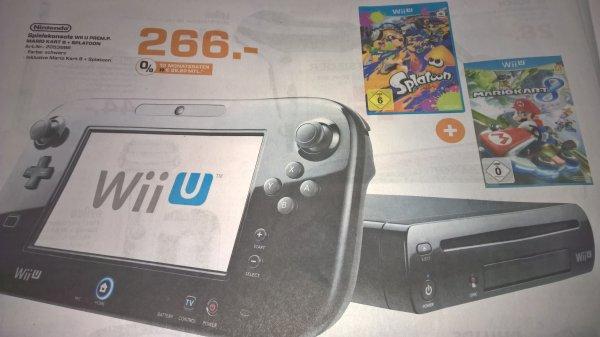 [Lokal Saarbrücken] Wii U Premium + Mario Kart 8 + Splatoon [Saturn]