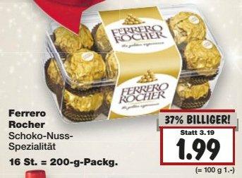 [Kaufland bundesweit?] Ferrero Rocher nur 1,99