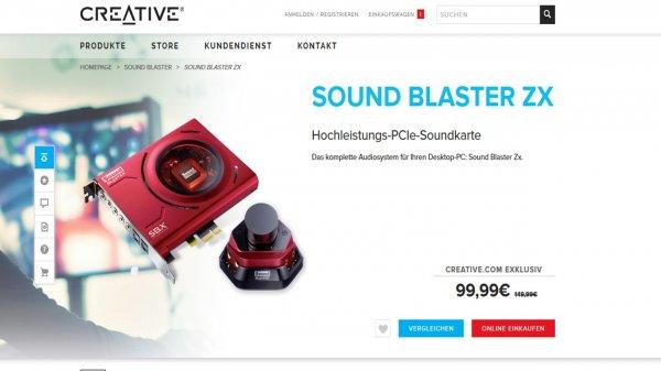 Creative Soundblaster Zx