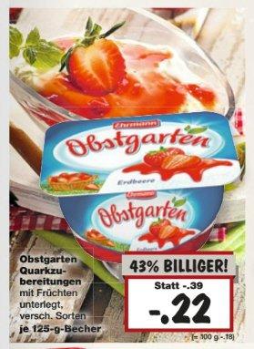[Kaufland Bayern?] Obstgarten nur 0,22€