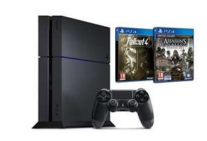 [Amazon.fr] PlayStation 4 500Gb mit Fallout 4 + assassins Creed für 335,04€ (CUH 1216A)
