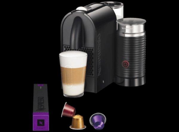 Nespresso Umilk schwarz DeLonghi EN 210 BAE + 200 Kapseln für 129€ bei Saturn Köln Hohe Straße