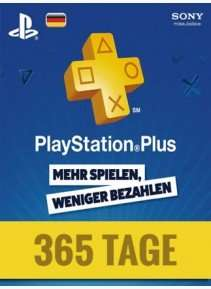 [G2A.com] Playstation Plus 365 DE Tage 38,79€ (Sofortüberweisung)
