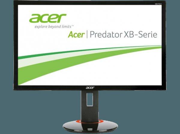 "Acer Predator XB270HUbprz 27"" IPS 144 Hz WQHD G-Sync Amazon WHD"
