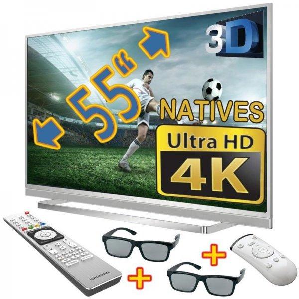 Grundig 55 CLX 8585 SL auf eBay für 800€