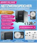 Netgear RND2000 ReadyNAS Duo inkl. 500GB für 139€ @T-Online-Shop