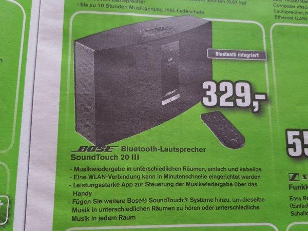 [AlpaTecc] Bose SoundTouch 20 III für 329 Euro