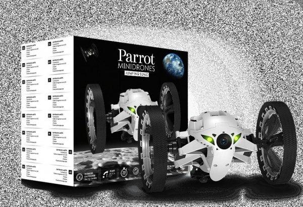 Parrot Jumping Sumo plus Powerbank