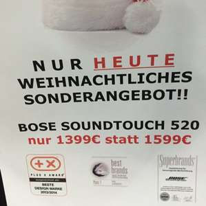 [Lokal MM Meerane] Bose Soundtouch 520