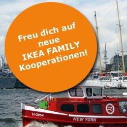 Lokal Hamburg: Hafenrundfahrt in Hamburg mit 3 Euro Rabatt pro Erwachsener (Kinder 1 Euro) mit IKEA Family Card