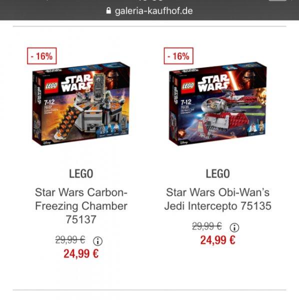 Lego Star Wars Schnäppchen @ Galeria