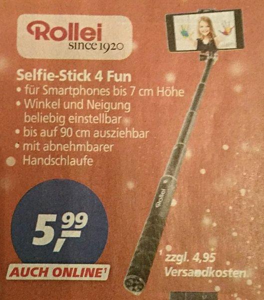 Rollei Selfie Stick 4 Fun für 5,99€ bei real,-