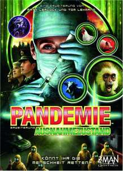 Pandemie - Der Ausnahmezustand [Erweiterung zu Pandemie, Brettspiel, Gesellschaftsspiel]