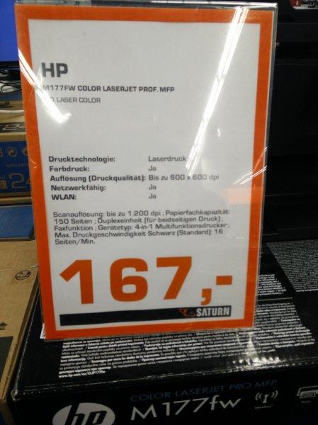 [Berliner Saturn Märkten] HP m177fw Farblaserdrucker