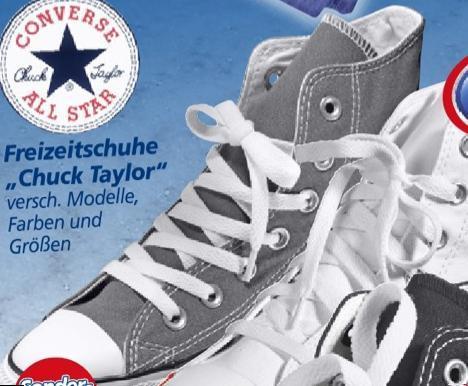 Converse Chucks in allen möglichen Farben bei real,- 39,95