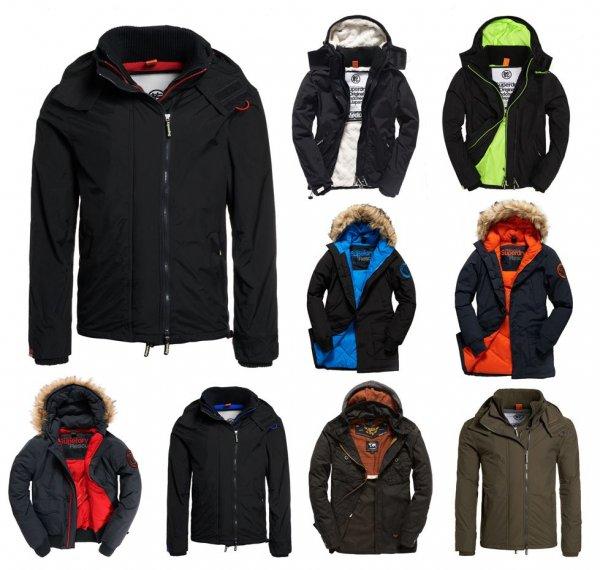 [eBay] Neue Herren Superdry Jacken - Verschiedene Modelle und Farben