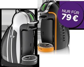 Dolce Gusto Adventskalender: GENIO® MINI Limited Edition (automatisch) für 79,00 €, Idealo 109,90 €