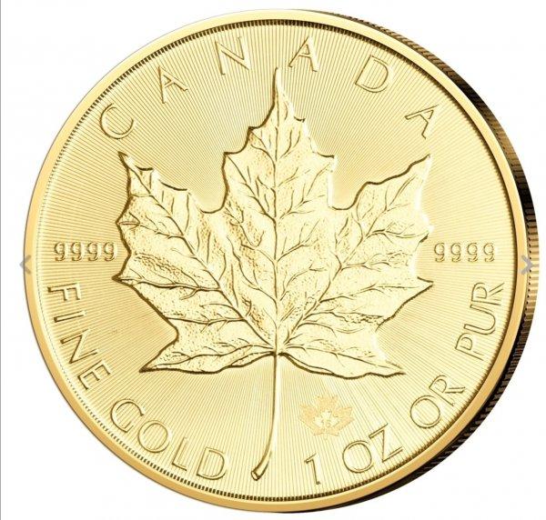 [ebay] Maple Leaf 1 oz Goldmünze für 1015 Euro + ggfs. PB Punkte im Wert von 25 Euro
