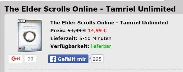 [MMOGA] The Elder Scrolls Online - Tamriel Unlimited Key