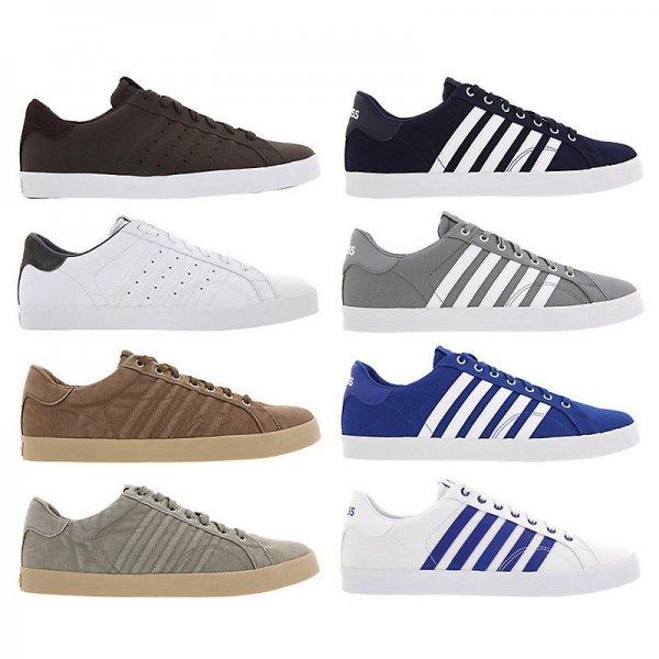 [Ebay] K-Swiss Belmont Sneaker aus Leder oder Textil für 27,92 € versandkostenfrei