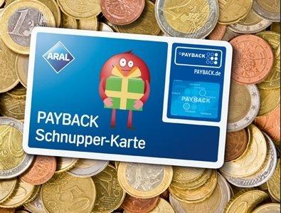 ARAL Payback Schnupperkarte - insgesamt 800 Begrüßungspunkte?
