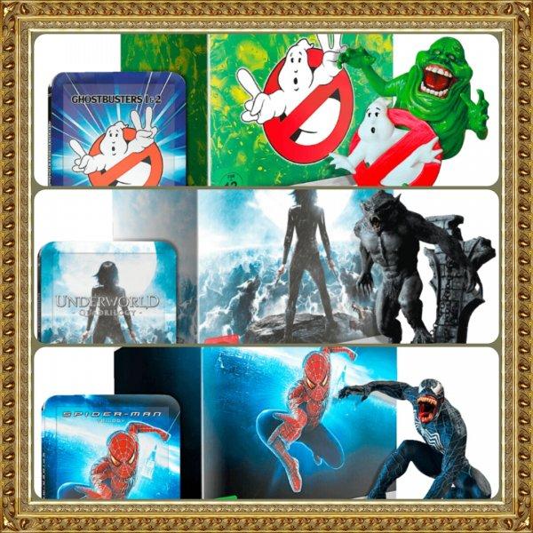 [Media Markt] Hero Pack Blu Ray Steelbook Editions + Figur.