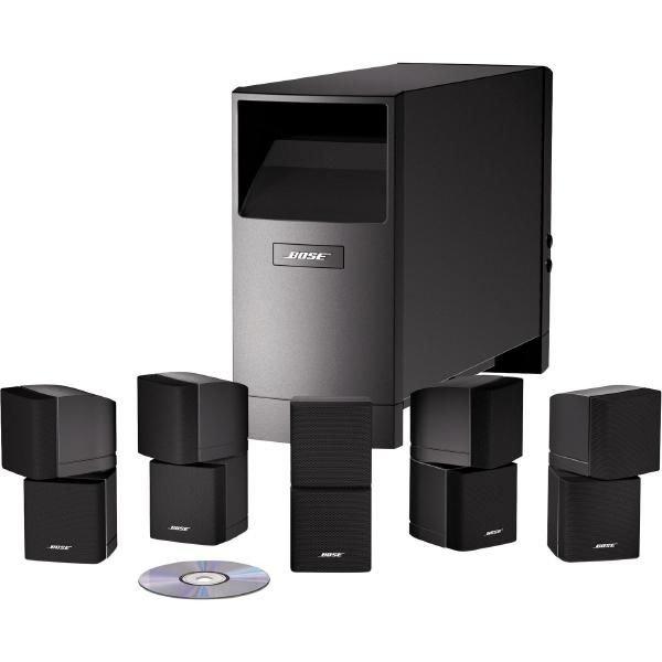 Aktuell gibt es das BOSE Acoustimass 10 Home Cinema Speaker System Series IV in schwarz für 699€ inkl. Versand (cyberport)