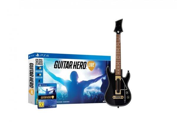 [Amazon.de] Guitar Hero Live inkl. 1 Gitarren Controller - PS4 / Xbox One - für 59,99€ inkl. Versand