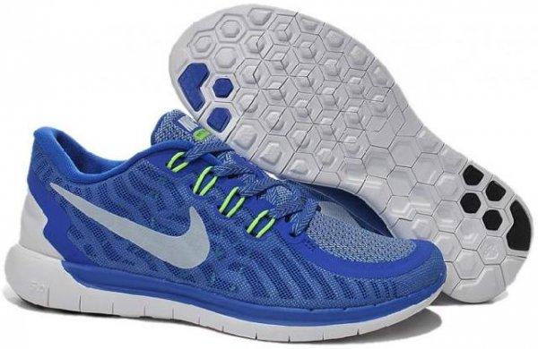 [Tennispoint] Nike Free 5.0 - blau/weiss - für 59,90 € inkl. Versand (Größe 42 - 45,5)