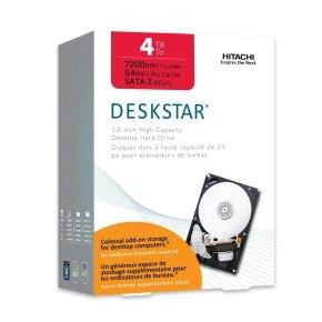"HGST Deskstar IDK 4TB 3,5"" SATA 6 Gb/s interne Festplatte H3IK40003272SE"