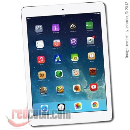 Apple iPad Air 32GB WiFi + 4G silber für 437€ - redcoon.de - Versandkostenfrei