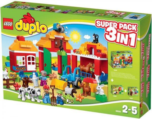 Lego Duplo Großer Bauernhof 3 in 1 (66525) Superpack 49 Euro bei REAL Online
